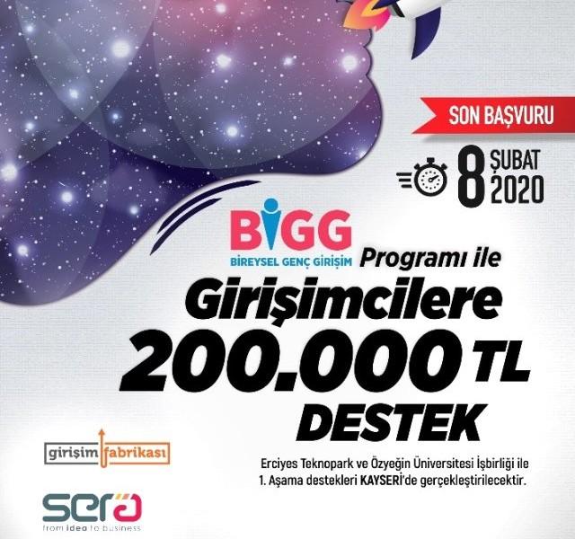 BiGG Programı Yeni Dönemde Yeniden Erciyes Teknopark'ta