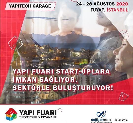 Start-Up'lar Yapı Fuarı'nda Sektör Temsilcileri ile YAPI TECH GARAGE Deneyim Alanında Buluşuyor