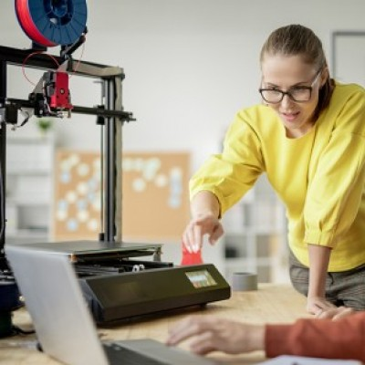 3D Yazıcılar ve Üretim grup logosu